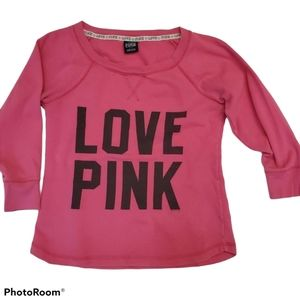 Pink by Victoria's Secret V Neck Sweatshirt